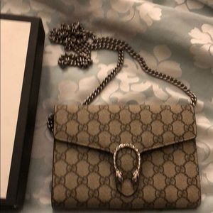 Gucci Bags - Gucci Dionysus mini wallet on a chain